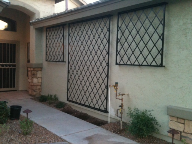 Wall Trellis Swiss Metal Works Arizona Custom Metal Work